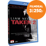 Produktbilde for Taken 2 - Unrated Extended Cut (BLU-RAY)
