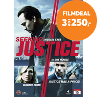 Produktbilde for Seeking Justice (DVD)