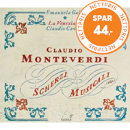Produktbilde for Monteverdi: Scherzi musicali (USA-import) (CD)