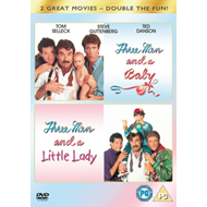 Produktbilde for Three Men And A Baby / Three Men And A Little Lady (UK-import) (DVD)