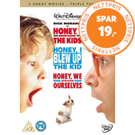 Produktbilde for Honey, I Shrunk The Kids / Honey, I Blew Up The Kid / Honey, We Shrunk Ourselves (UK-import) (DVD)