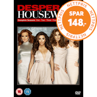 Produktbilde for Frustrerte Fruer / Desperate Housewives - Den Komplette Serien (UK-import) (DVD)