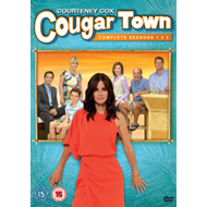 Produktbilde for Cougar Town - Sesong 1 - 3 (UK-import) (DVD)
