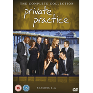 Produktbilde for Private Practice - The Complete Collection (UK-import) (DVD)