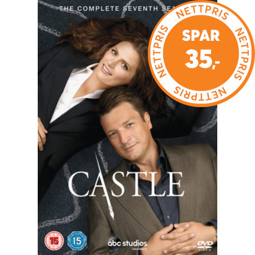 Castle - Sesong 7 (UK-import) (DVD)