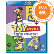 Produktbilde for Toy Story 1-4 (BLU-RAY)