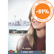 Produktbilde for Grey's Anatomy - Sesong 15 (DVD)