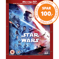 Produktbilde for Star Wars: Episode IX - The Rise Of Skywalker (UK-import) (Blu-ray 3D + Blu-ray)