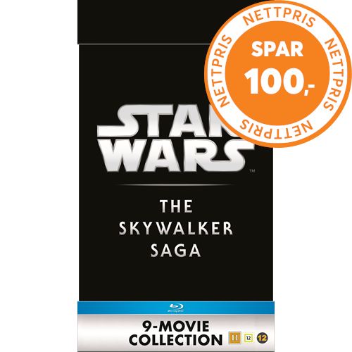 Star Wars: Episode I-IX - The Skywalker Saga (BLU-RAY)