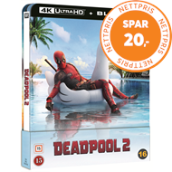 Produktbilde for Deadpool 2 - Limited Steelbook Edition (4K Ultra HD + Blu-ray)