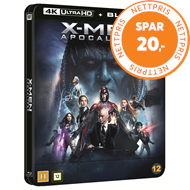 Produktbilde for X-Men: Apocalypse (2016) - Limited Steelbook Edition (4K Ultra HD + Blu-ray)