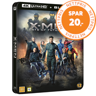 Produktbilde for X-Men: Days Of Future Past (2014) - Limited Steelbook Edition (4K Ultra HD + Blu-ray)