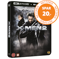 Produktbilde for X-Men 2 (2003) - Limited Steelbook Edition (4K Ultra HD + Blu-ray)