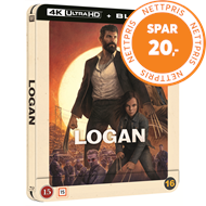 Produktbilde for Logan: The Wolverine (2017) - Limited Steelbook Edition (4K Ultra HD + Blu-ray)