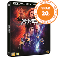 Produktbilde for X-Men: Dark Phoenix (2019) - Limited Steelbook Edition (4K Ultra HD + Blu-ray)