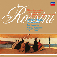 Produktbilde for Rossini: 6 Sonate A Quattro (Analogphonic) (VINYL - 2LP - 180 gram)