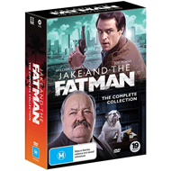 Produktbilde for Jake and the Fatman - The Complete Collection (DVD)