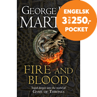 Produktbilde for Fire and Blood - 300 Years Before a Game of Thrones (A Targaryen History) (BOK)
