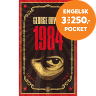 Produktbilde for 1984 - The dystopian classic reimagined with cover art by Shepard Fairey (BOK)