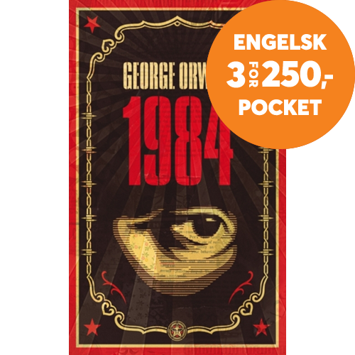 1984 - The dystopian classic reimagined with cover art by Shepard Fairey (BOK)