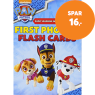 Produktbilde for PAW Patrol: First Phonics Flash Cards (BOK)