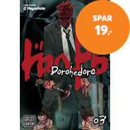 Produktbilde for Dorohedoro, Vol. 3 (BOK)