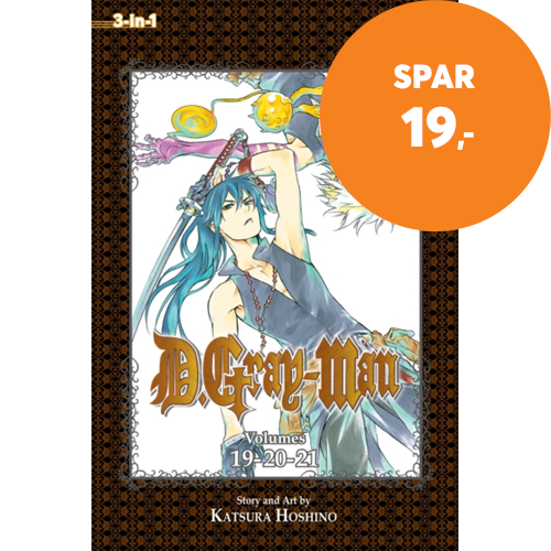 D.Gray-man (3-in-1 Edition), Vol. 7 - Includes vols. 19, 20, & 21 (BOK)