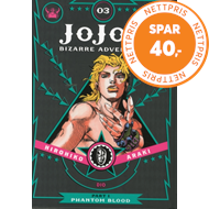 Produktbilde for JoJo's Bizarre Adventure: Part 1--Phantom Blood, Vol. 3 (BOK)