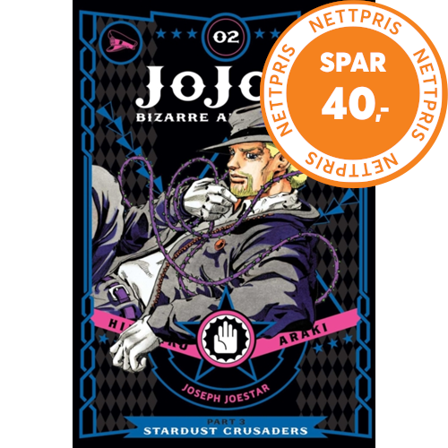 JoJo's Bizarre Adventure: Part 3--Stardust Crusaders, Vol. 2 (BOK)