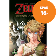 Produktbilde for The Legend of Zelda: Twilight Princess, Vol. 1 (BOK)