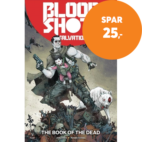 Bloodshot Salvation Volume 2: The Book of the Dead (BOK)