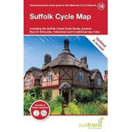 Produktbilde for Suffolk Cycle Map - Including the Suffolk Coast Cycle Route, Ipswich, Bury St Edmunds, Felixstowe an (BOK)