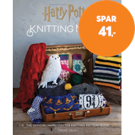 Produktbilde for Harry Potter Knitting Magic - The official Harry Potter knitting pattern book (BOK)
