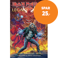 Produktbilde for Iron Maiden Legacy of the Beast Expanded Edition Volume 1 (BOK)