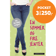 Produktbilde for En sommer og fire jenter (BOK)
