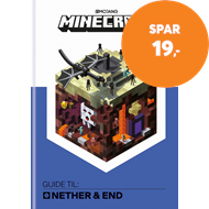 Produktbilde for Minecraft - guide til: Nether og End (BOK)