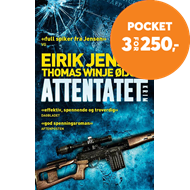 Produktbilde for Attentatet - kriminalroman (BOK)