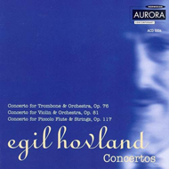 Produktbilde for Hovland: Concertos (CD)