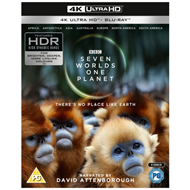 Produktbilde for Seven Worlds - One Planet (UK-import) (4K Ultra HD + Blu-ray)