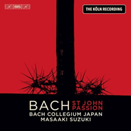 Produktbilde for Bach: St John Passion: The Köln Recording (SACD-Hybrid)