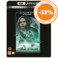Produktbilde for Rogue One: A Star Wars Story (4K Ultra HD + Blu-ray)