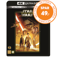 Produktbilde for Star Wars: Episode VII - The Force Awakens (4K Ultra HD + Blu-ray)