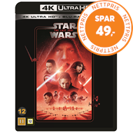 Produktbilde for Star Wars: Episode VIII - The Last Jedi (4K Ultra HD + Blu-ray)