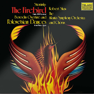 Produktbilde for Stravinsky: The Firebird. Borodin: Music from Prince Igor (UK-import) (CD)
