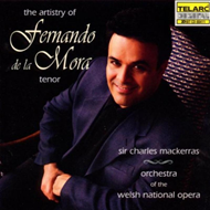 Produktbilde for The Artistry of Fernando de la Mora (USA-import) (CD)