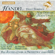 Produktbilde for Handel: Sacred Choral works (CD)