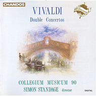 Produktbilde for Vivaldi: Double Concertos (CD)