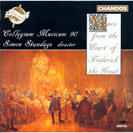 Produktbilde for Music from the Court of Frederick the Great (CD)