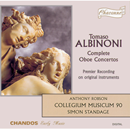 Produktbilde for Albinoni: Oboe Concertos (CD)