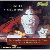 Produktbilde for Bach: Violin Concertos (CD)